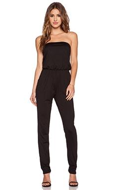 Susana Monaco Strapless Jumpsuit in Black