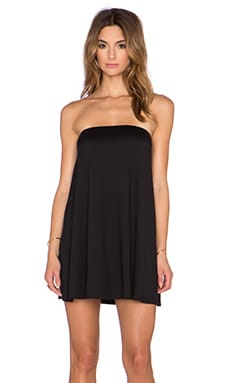 Susana Monaco Strapless Tunic in Black