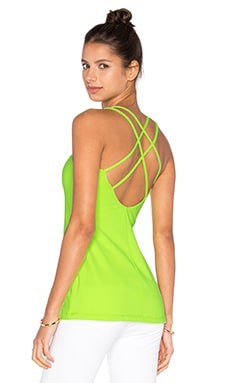 Noelle Top en Neon Lime