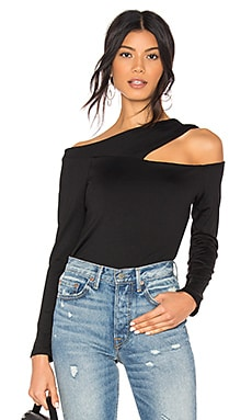 Gathered Cross Strap Top Susana Monaco $117