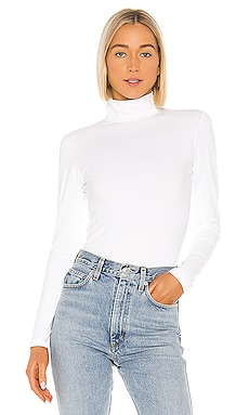 Foldover Turtleneck Long Sleeve Top Susana Monaco $118