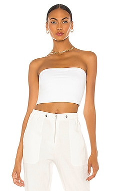 Strapless Crop Top Susana Monaco $58