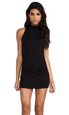 Harper Turtleneck Tank in Black
