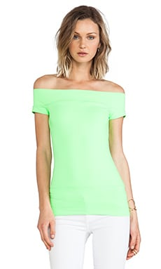 Off the Shoulder Top in Luminous