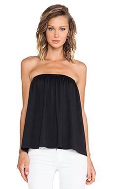 Susana Monaco Chloe Strapless Top in Black