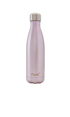 S'well Glitter 17oz Water Bottle in Pink Champagne