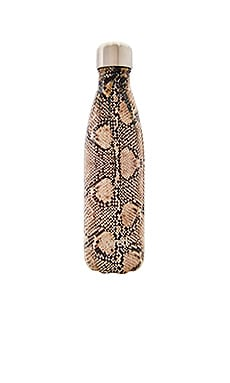 Exotics 17oz Water Bottle in Sand Python