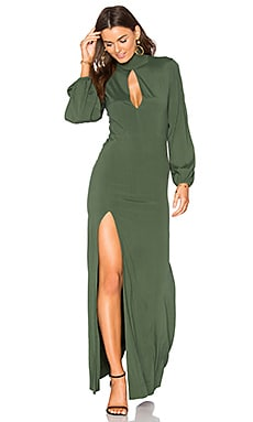 Evelyn Dress in Pine Green