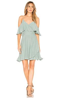 Мини платье с запахом holli - SWF