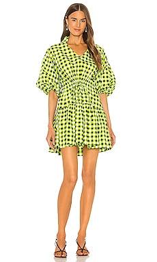 Gingham Mini Dress SWF $196