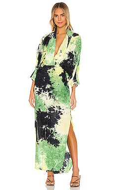Tie Dye Maxi Dress SWF $298