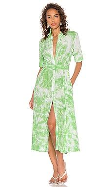 Long Sleeve Shirt Dress SWF $289 NEW