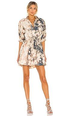 X REVOLVE Mini Collar Dress SWF $279 NEW