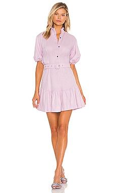 Belted Mini Shirt Dress SWF $279