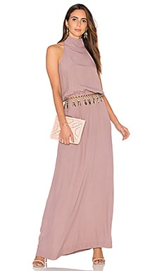 Clara Dress in Mauve