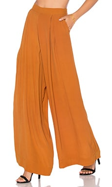 Serena Pant in Rust
