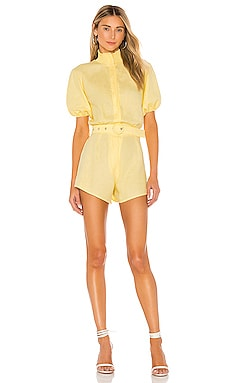 Puff Sleeve Romper SWF $278 NEW ARRIVAL
