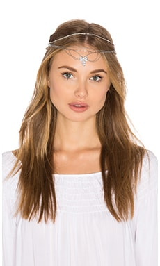 Fields of Gold Headpiece in Silver
