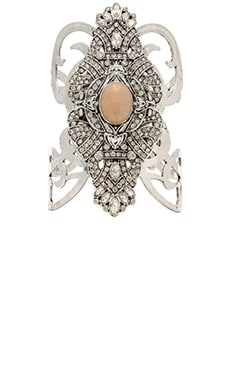 Samantha Wills Crystal Breeze Cuff in Antique Silver