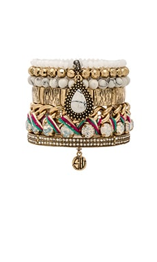 Samantha Wills Reality of Dreams Bracelet Set in Multi