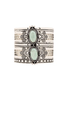 Samantha Wills Bohemian Moon Cuff in Turquoise
