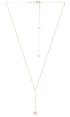 Samantha Wills Harvest Moon Drop Necklace in Crystal Quartz