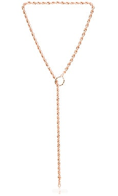 Samantha Wills Midnight Prism Lariat Necklace in Shiny Rose Gold