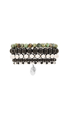 Samantha Wills Magnetic Rhythm Bracelet Set in Black Onyx