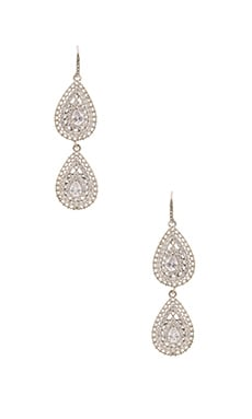 Samantha Wills Velvet Ocean Crystal Earrings in Rhodium