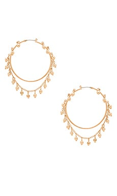 Nightfall Hoop Earrings