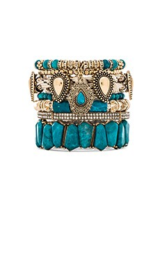 Samantha Wills Southern Sun Bracelet Set in Turquoise