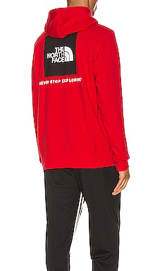 Red Box Hoodie The North Face $50