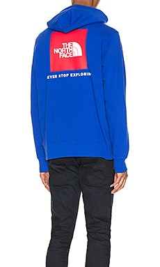 Red Box Pullover Hoodie The North Face $50