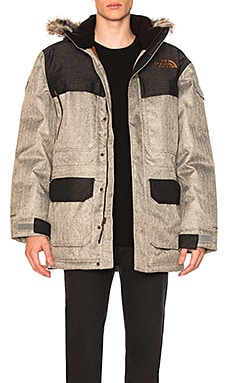 McMurdo Parka III With Faux Fur Trim