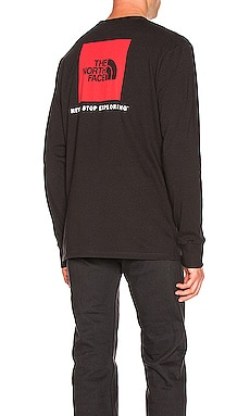 L/S RED BOX 티셔츠 The North Face $32