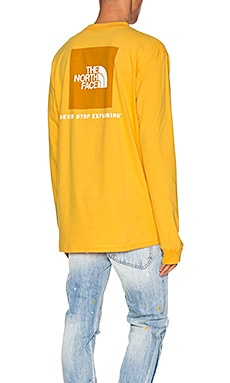 Long Sleeve Red Box Tee The North Face $32