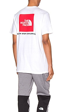Red Box Tee The North Face $25