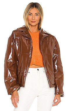 Milena Quilted PU Jacket Tach Clothing $245