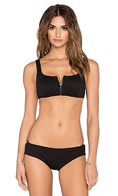 Talulah Bombora Bikini Top in Black
