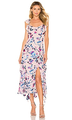 Violeta Tie Dye Floral Dress Tanya Taylor $232 Collections