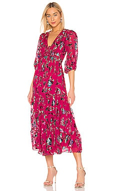 Dulce Floral Dress Tanya Taylor $317