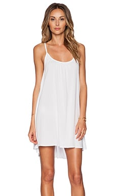 TAVIK Swimwear Mia Mini Dress in White