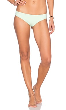 TAVIK Swimwear Ali Minimal Bikini Bottom in Key Lime
