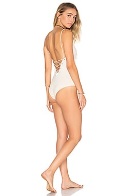 Monahan One Piece Swimsuit in Tapioca