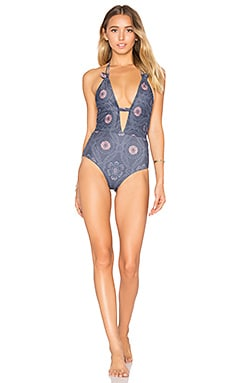 Emme One Piece Swimsuit in Yakota Floral