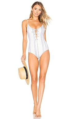 Monahan One Piece Swimsuit in Horizon Stripe