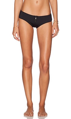 TAVIK Swimwear Irene Bikini Bottom in Jet Black