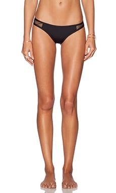 TAVIK Swimwear Jayden Bikini Bottom in Jet Black