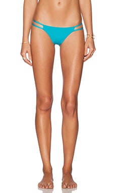 TAVIK Swimwear Vine Bikini Bottom in Lagoon
