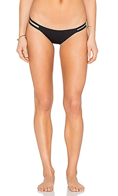 TAVIK Swimwear Vine Bikini Bottom in Black